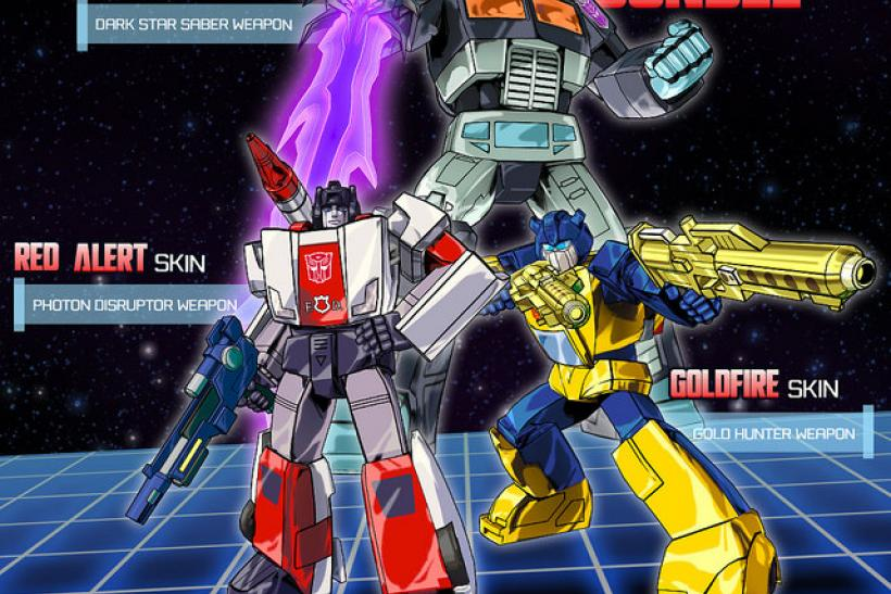 Transformers Devastation DLC