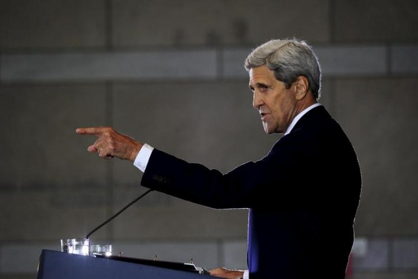 U.S. Secretary of State John Kerry, Sept. 2, 2015