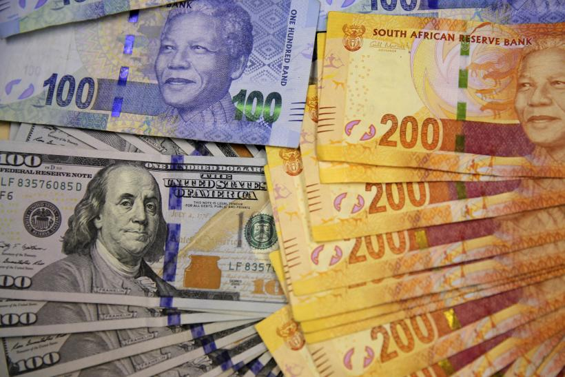 South African, American bank notes