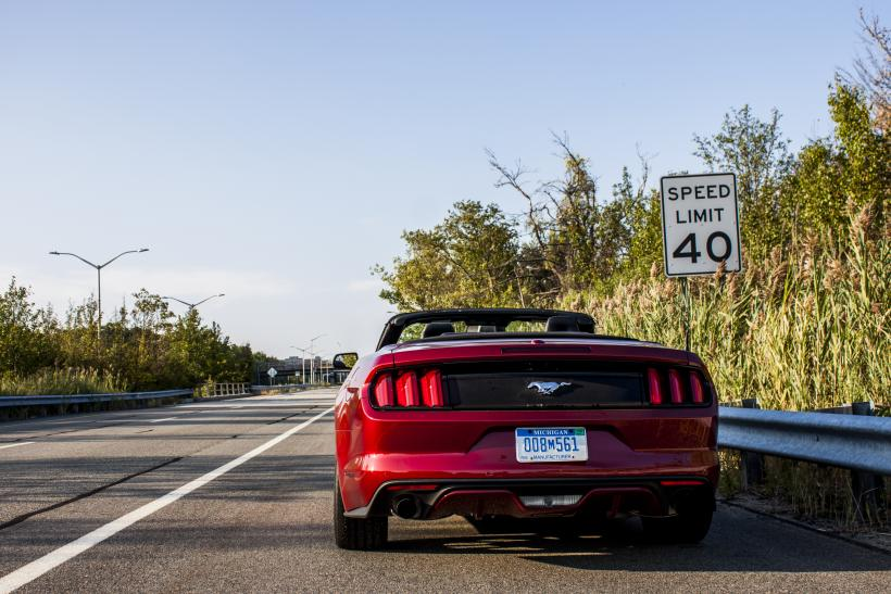 Mustang Rear Speed Limit