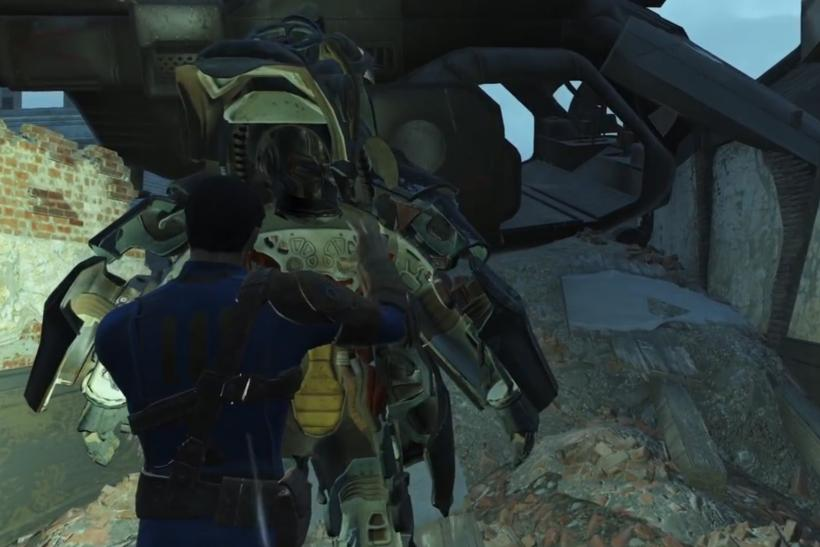 Fallout 4 Radiation Suit