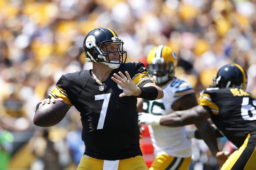Ben Roethlisberger Steelers 2015