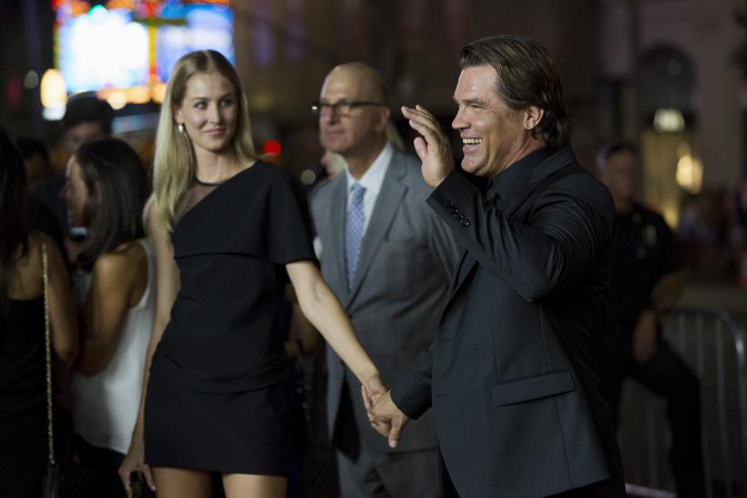 [10:38] Cast member Josh Brolin and his fiancee Kathryn Boyd