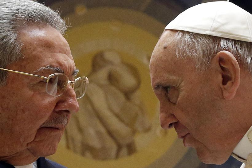 castro and pope