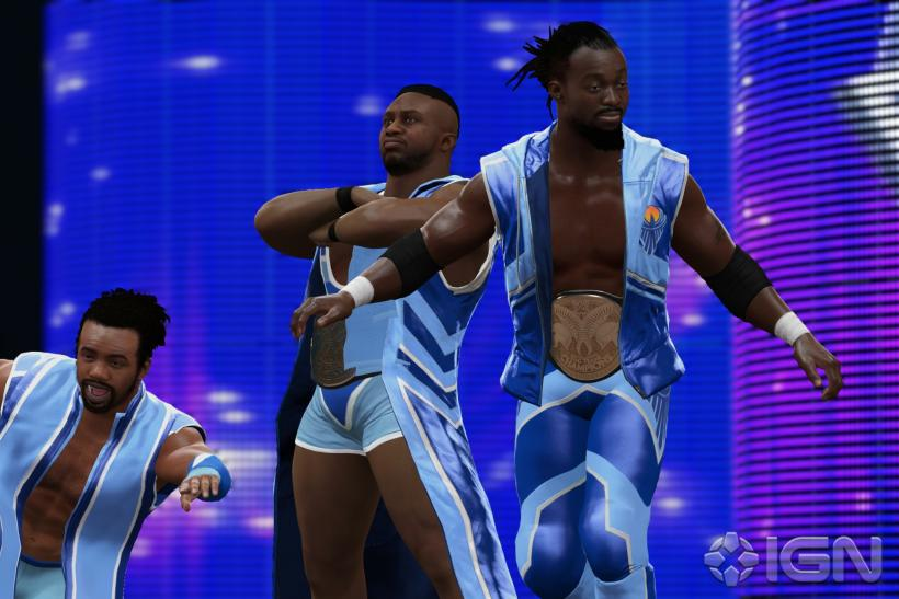 WWE 2K16 New Day