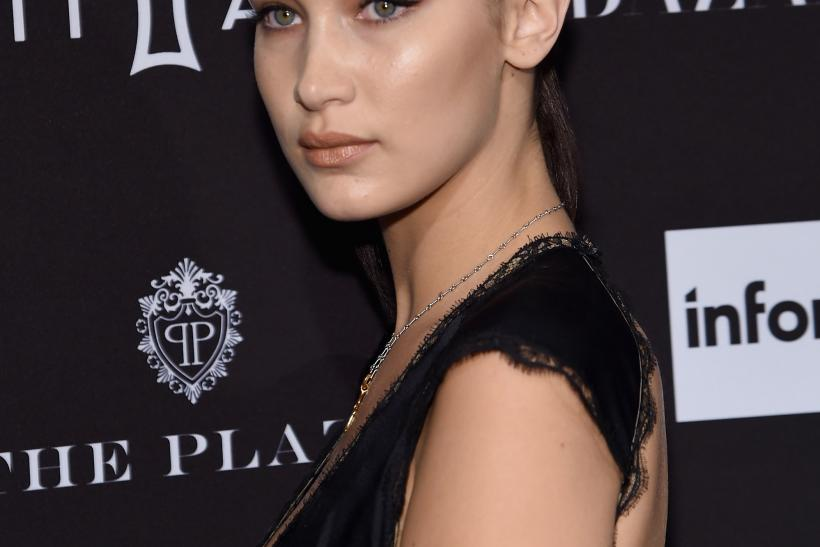 Bella Hadid pane crash