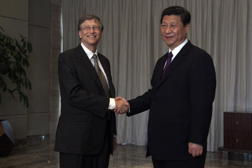 Xi Jinping Bill Gates