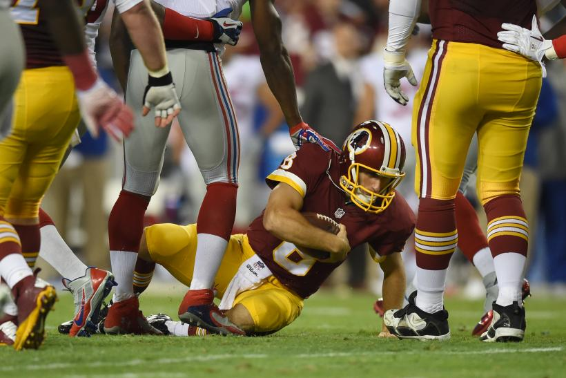 Kirk Cousins Redskins Giants