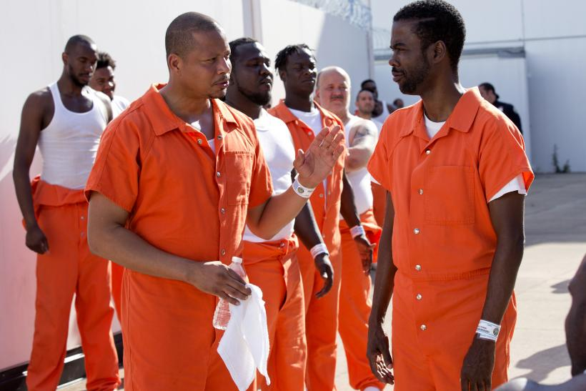 Lucious Fox and Frank Gathers