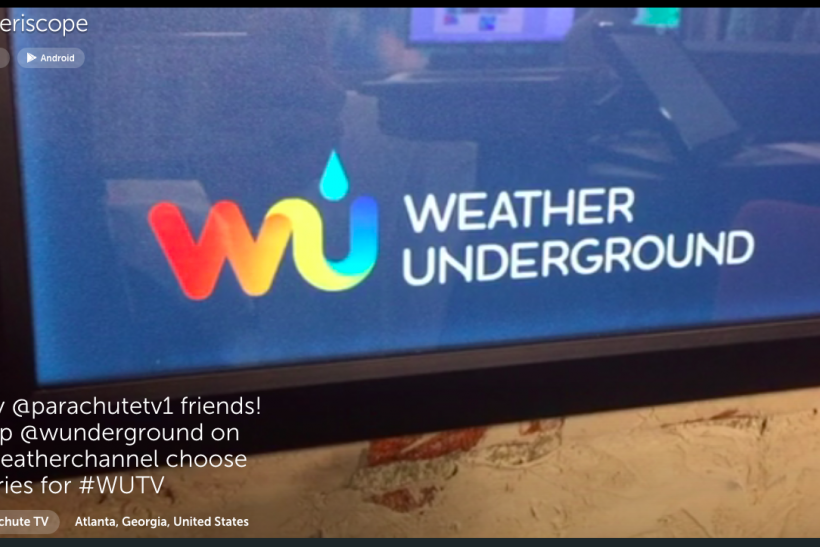 weather channel periscope