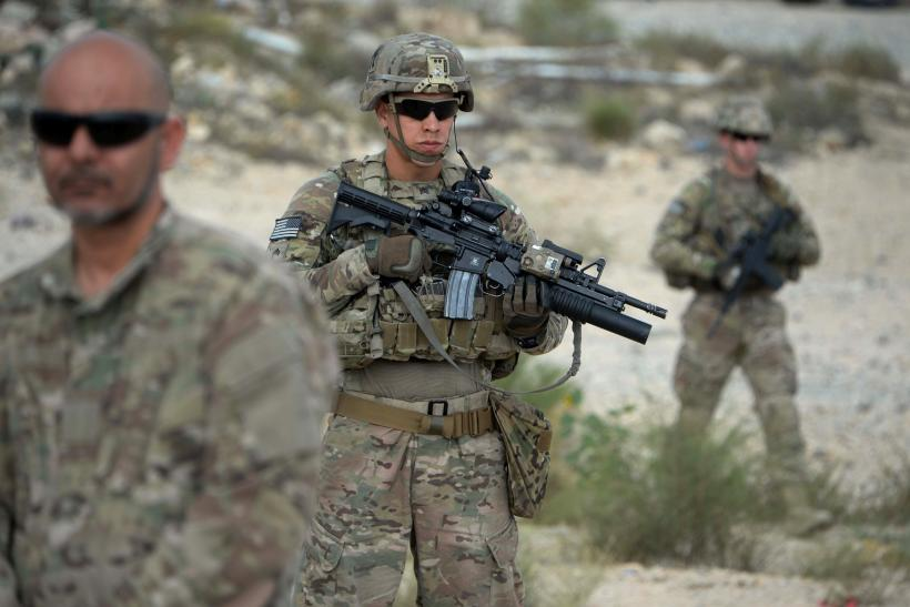 US troops Afghanistan