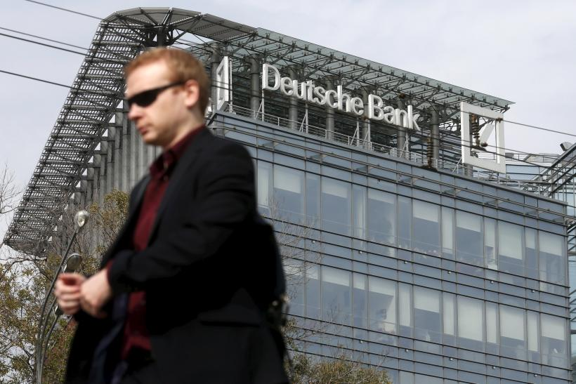 Deutsche Bank in Moscow Sept. 17, 2015