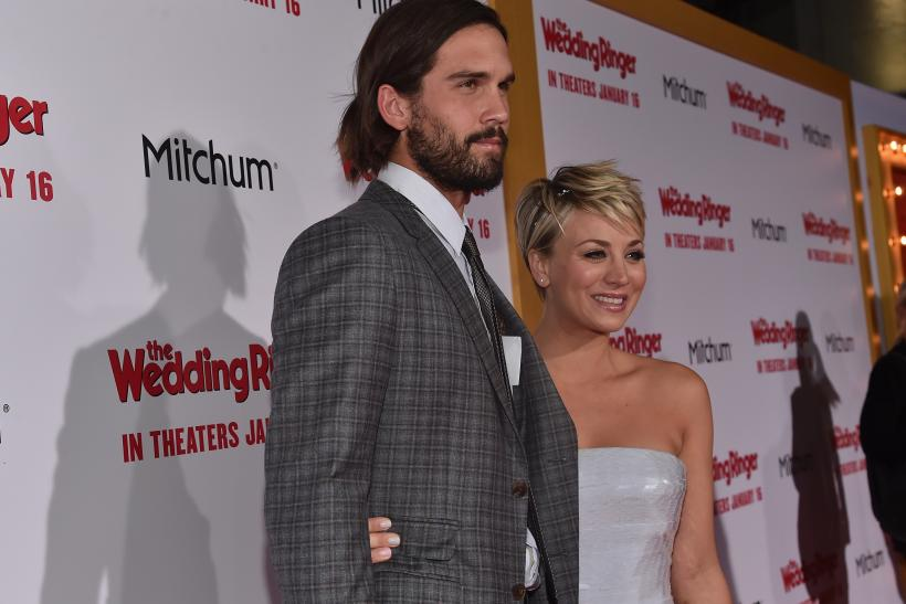 Kaley Cuoco Ryan Sweeting Update: U0027Big Bang Theoryu0027 Star Spotted Without Wedding  Ring After Divorce Announcement