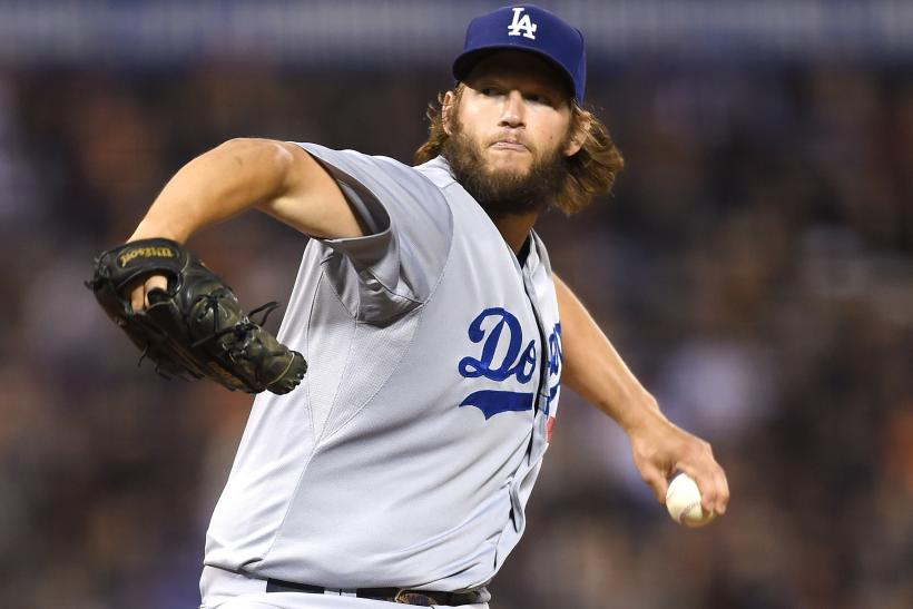 Clayton Kershaw Dodgers 2015
