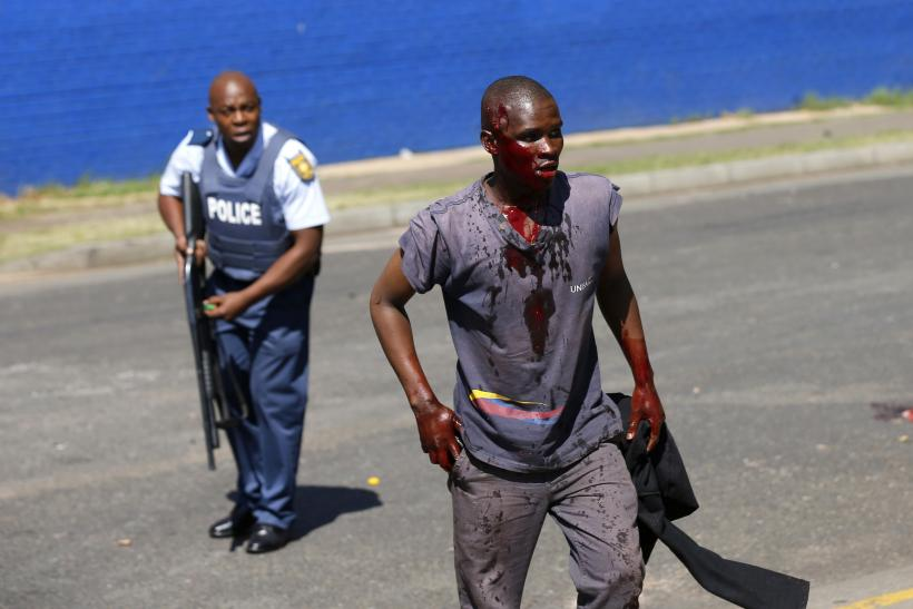south africa police brutality