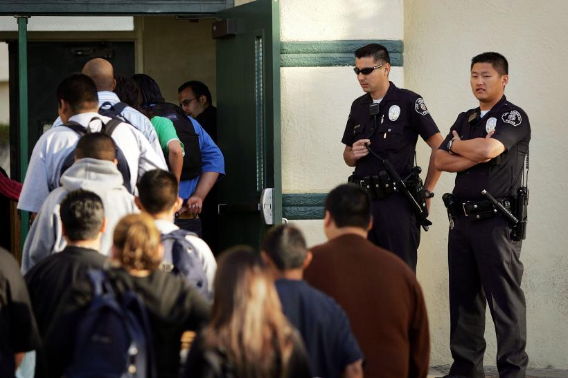 California high school police
