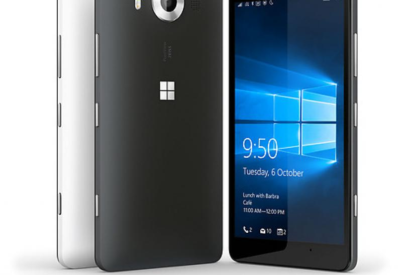 Microsoft Lumia 950 hero