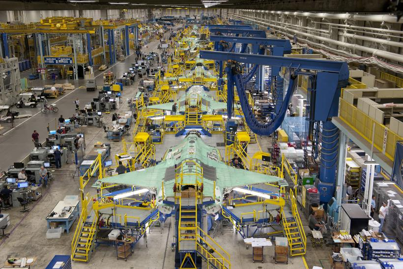 F-35 still under construction