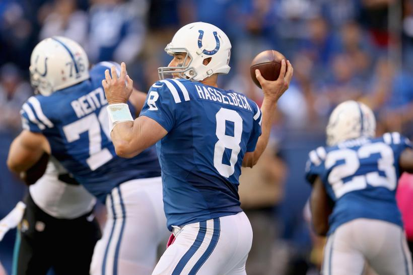 Matt Hasselbeck Indianapolis Colts