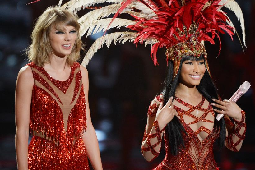 Taylor Swift Nicki Minaj feud ends