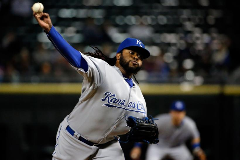 Johnny Cueto Royals 2015