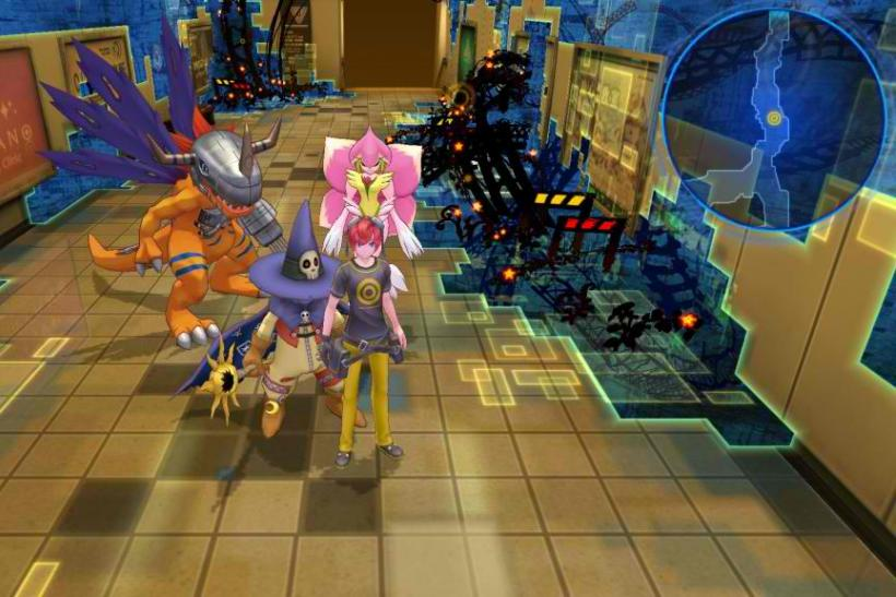 digimon cyber sleuth party