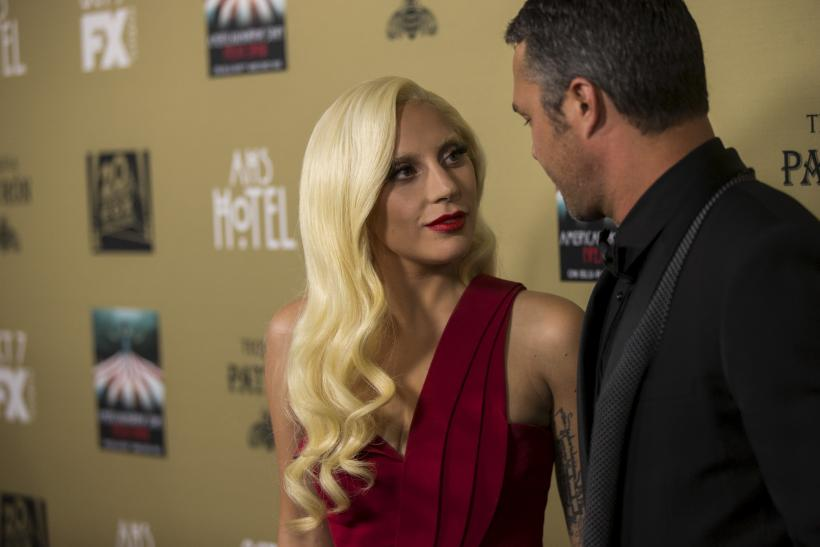 [08:54] Cast member Lady Gaga and her fiancee Taylor Kinney