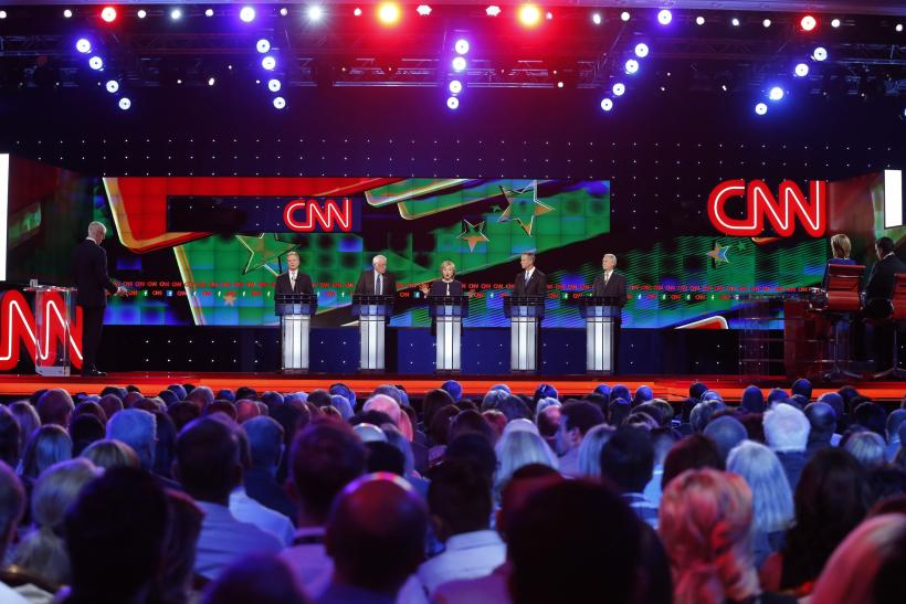 cnn democratic debate backlash