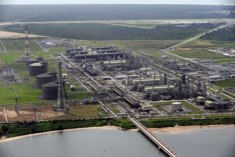 Nigeria Liquefied Natural Gas plant