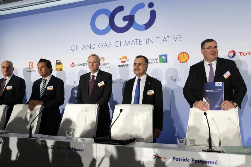 Resultado de imagen de Oil and Gas Climate Initiative