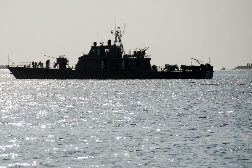 An Iranian ship in the Red Sea
