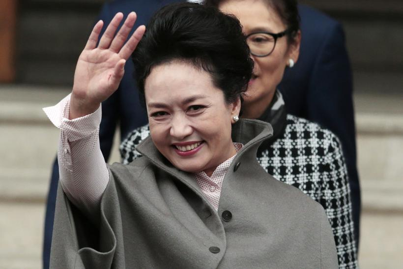 [08:37] Chinese first lady Peng Liyuan