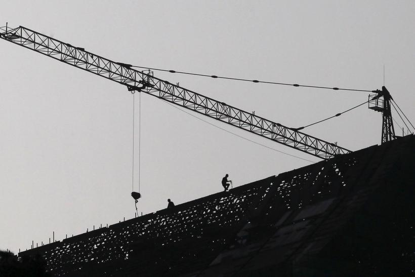 Construction Site in Jinning, Yunnan, China Oct. 20, 2015