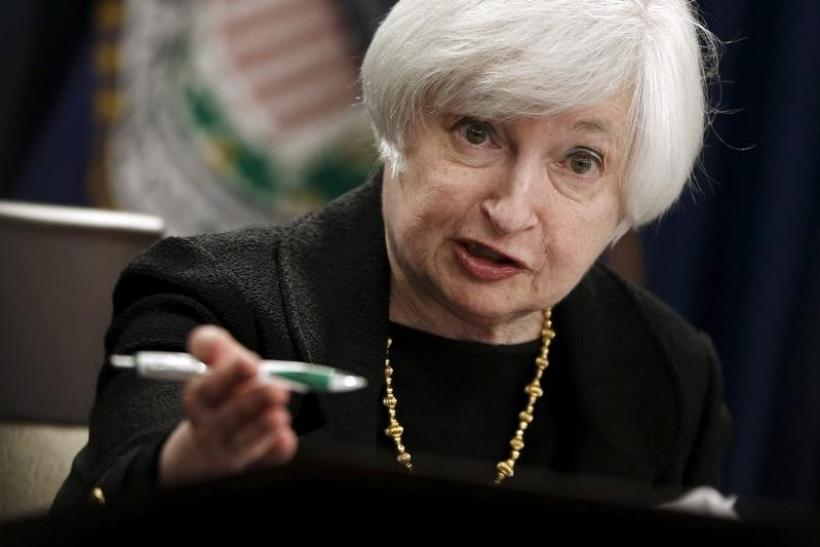 Federal Reserve Chair Janet Yellen, Sept. 17, 2015