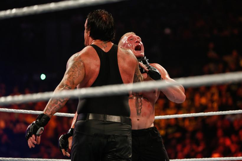 Undertaker Brock Lesnar WWE