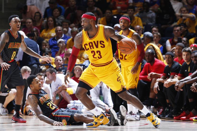 LeBron James Cavs 2015