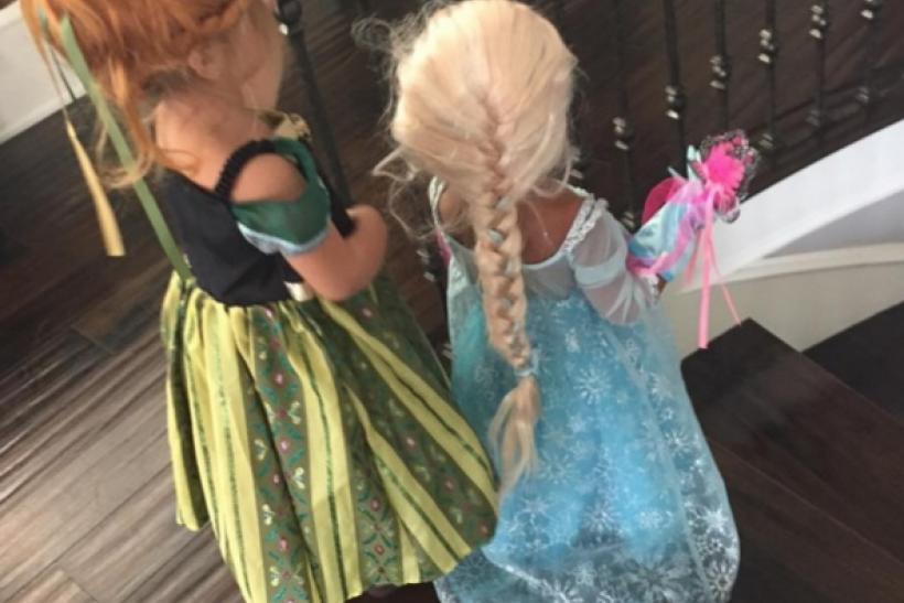 Halloween 2015: North West And Penelope Disick Dress Up As