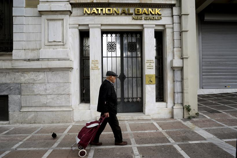 National Bank of Greece Branch, Athens, Greece, Oct. 31, 2015