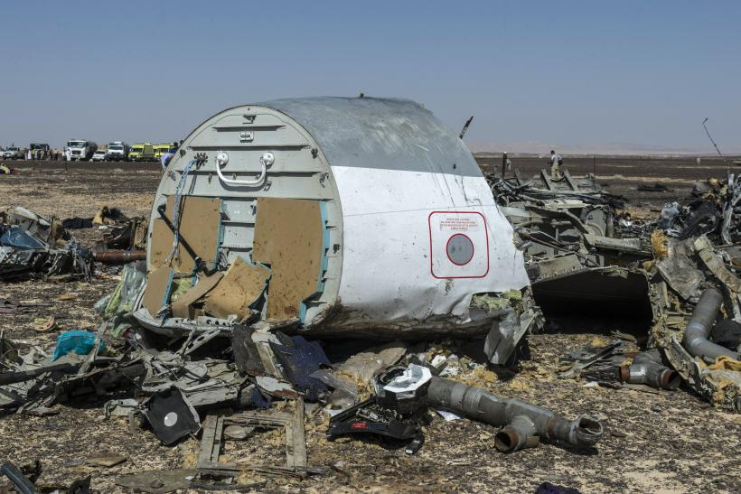 Sinai plane crash latest update victims