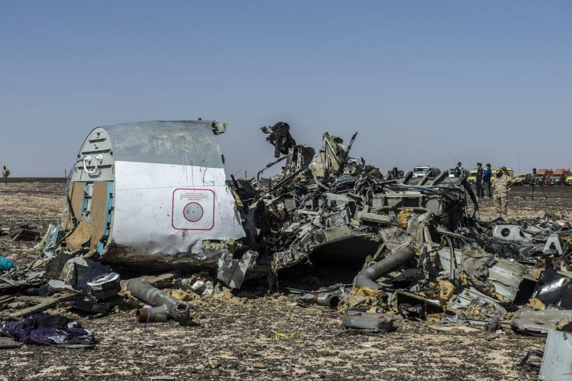 Russian plane crash in Sinai