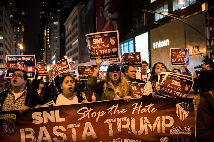 Donald Trump Demonstration, New York, Nov. 7, 2015