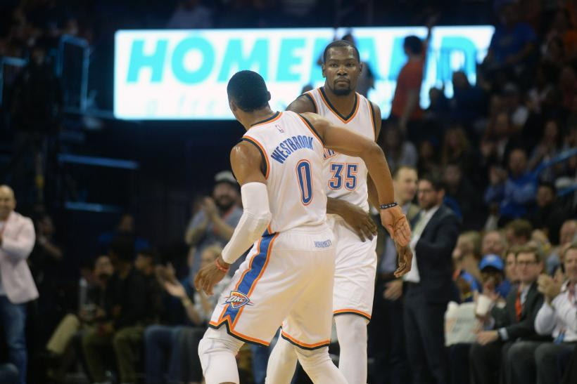 Westbrook and Durant