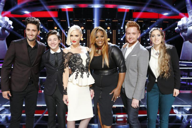 2a1a4624e67  The Voice  Season 9 Spoilers  The Live Performances Begin As Gwen Stefani  And Adam Levine Show Off Their Best Artists
