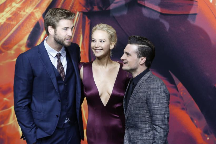 [08:35] Liam Hemsworth, Jennifer Lawrence and Josh Hutcherson