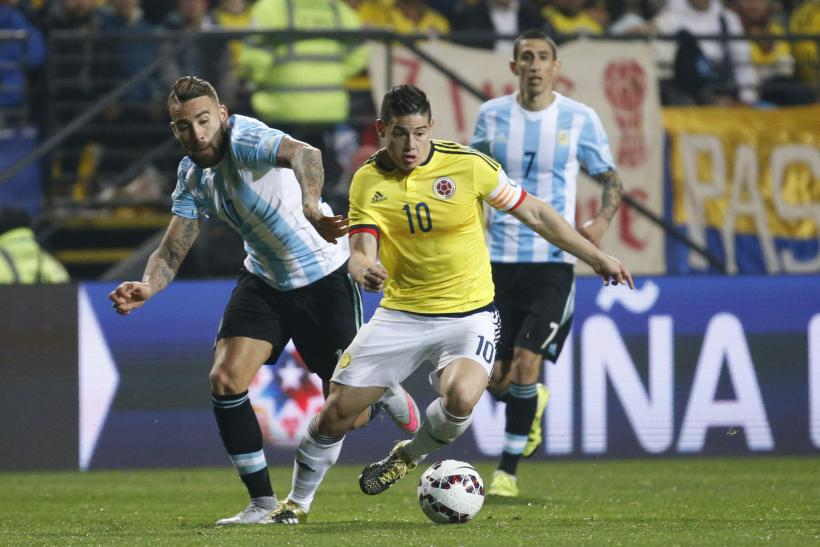 James Rodriguez Colombia 2015
