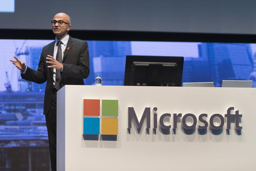 Satya Nadella's cloud push