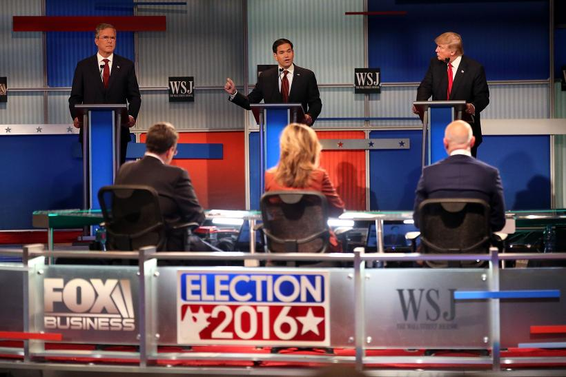 Fox Business GOP Debate: Just As Chaotic As CNBC, But