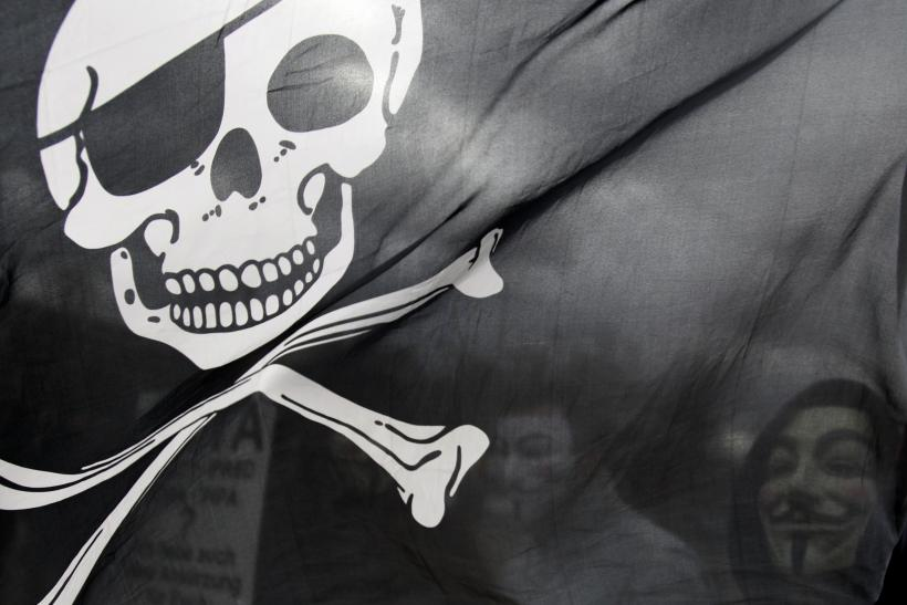 Jolly Roger online piracy flag