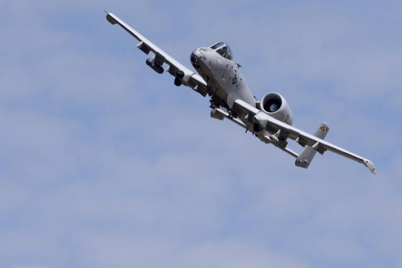An A-10 during an exercise