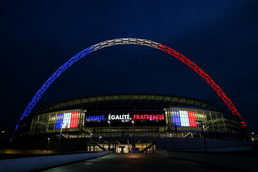 Wembley Stadium, England vs France